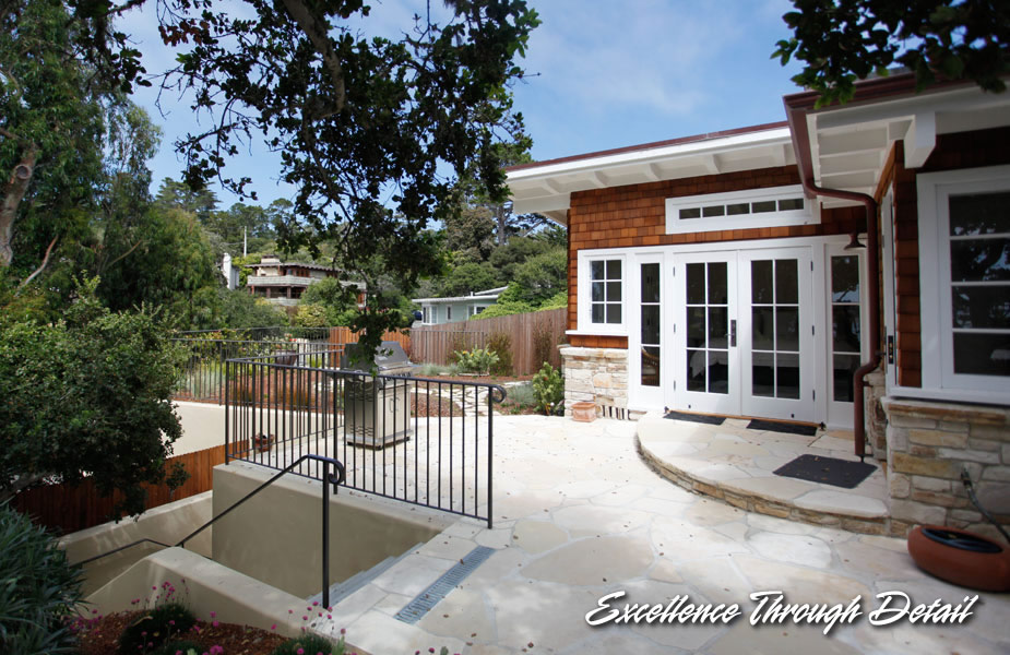 Carmel Beach Historic Cottage By Garnero Construction